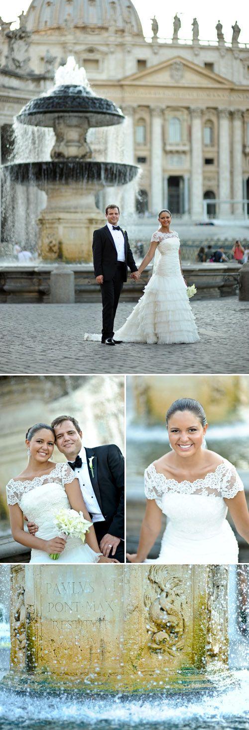 destination wedding in Rome Italy, planned by Italia Celebrations, photos by Ruggero Farina