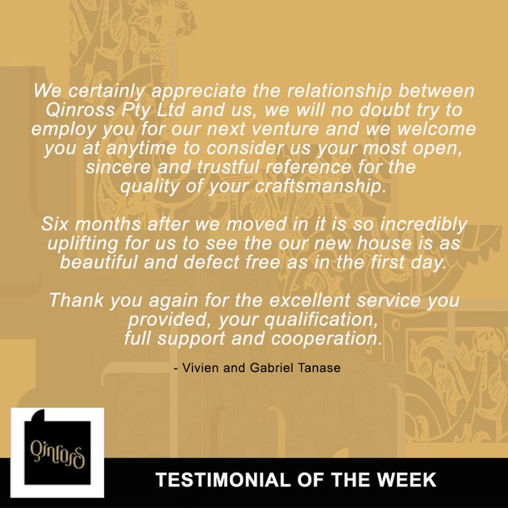 Vivien and Gabriel Tanase are also satisfied clients that we have worked with in the past. Check out their feedback on our work!