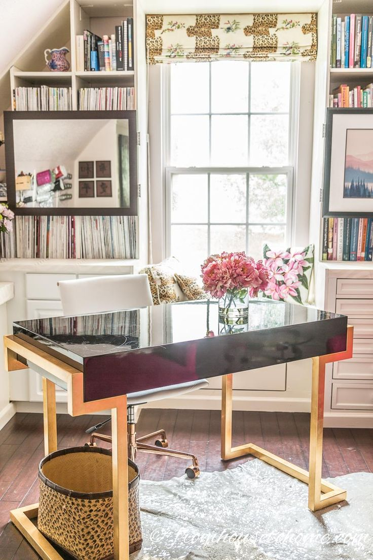 56 best Home Office Ideas For Women images on Pinterest | Offices ...