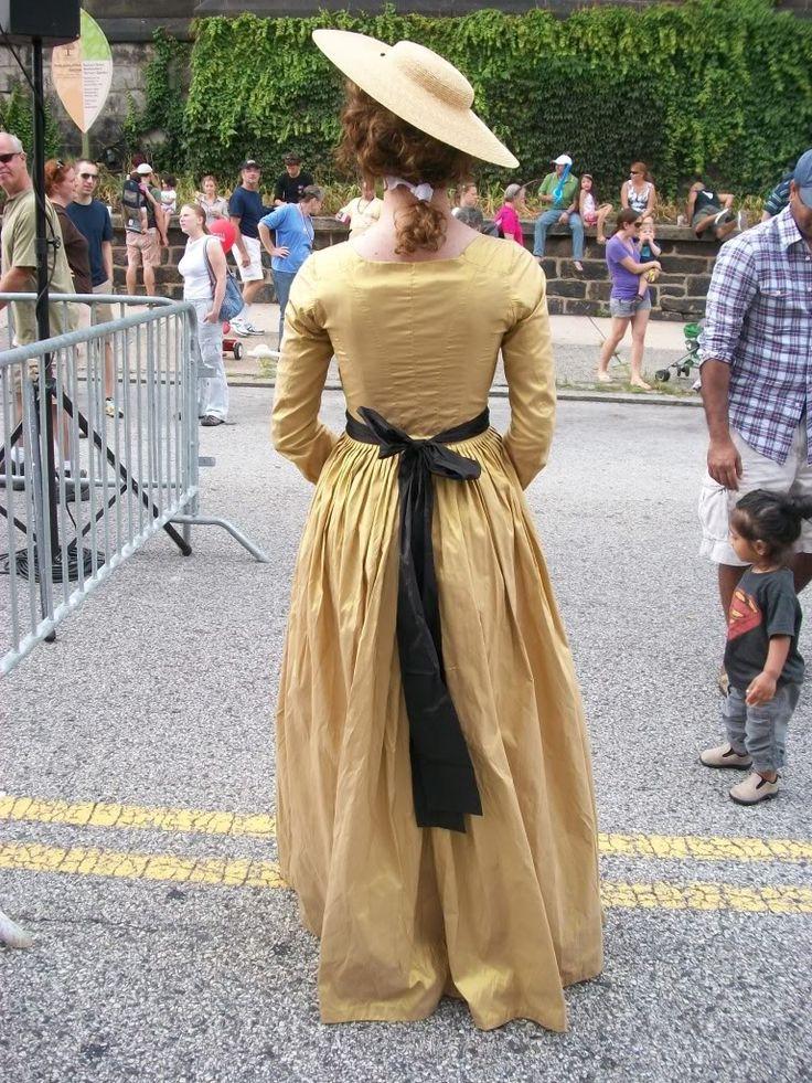 A Dedicated Follower of Fashion: Yellow gaulle