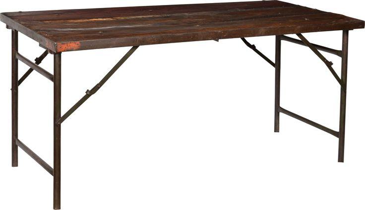 Rustikt fällbart bord - Trä - Köp möbler och inredning på Reforma Sthlm