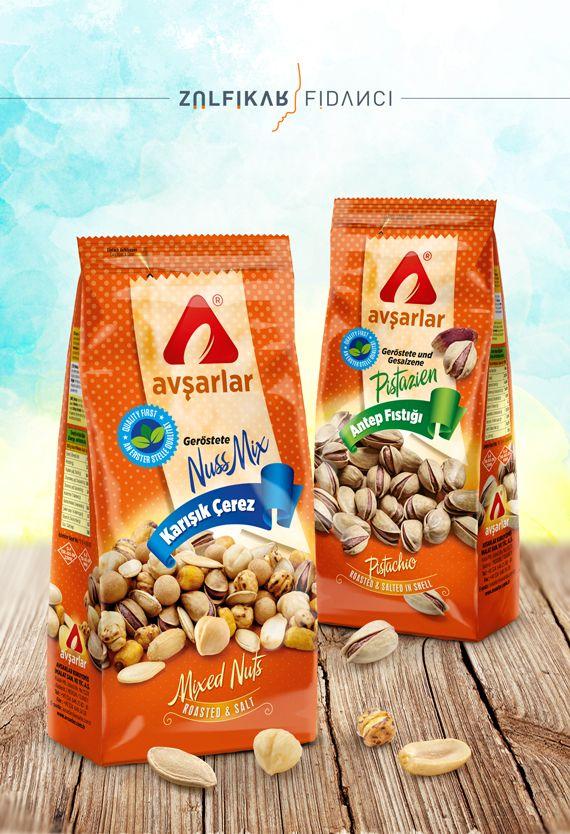Nuts Packaging Design Kuruyemiş Ambalaj Tasarımı Avşarlar ... Tasarım ZÜLFİKAR FİDANCI www.zulfikarfidanci.om