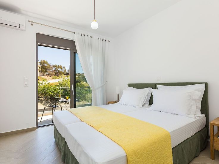 Rethymno villa rental - Bed linen, bath and pool towels are provided! Also the mattresses are Cocomat.