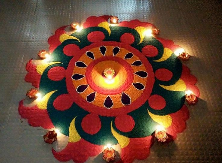 3D Rangoli Designs for Diwali