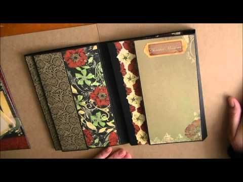 A Tri Fold Mini With Lots Of Flips And Pockets Center Section Has A
