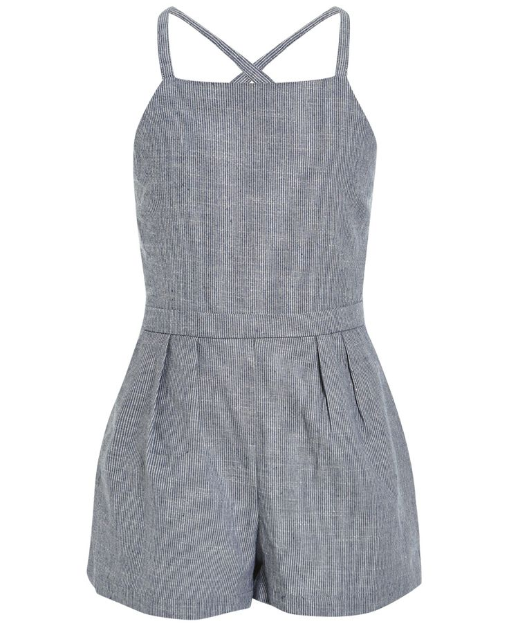Char: Chambray Playsuit - Bardot Junior