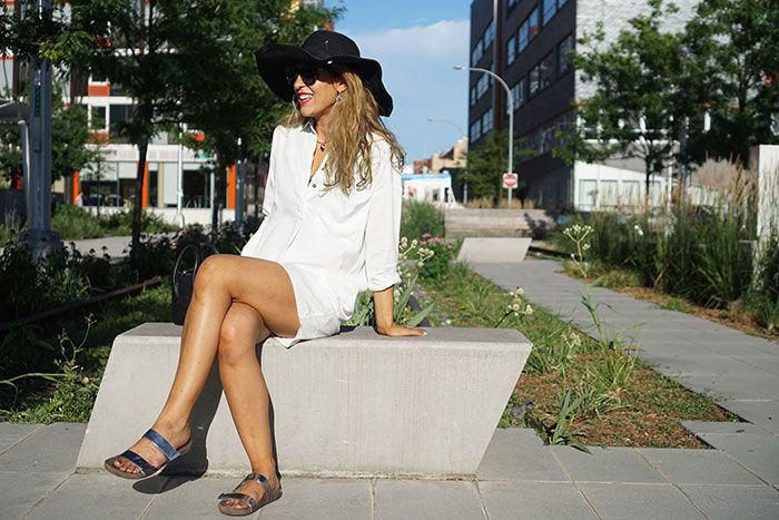 Weekend style now #ontheblog #vionicshoes