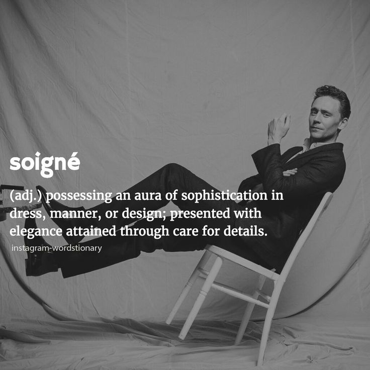 Soigné Possessing an aura of sophistication in dress, manner, or design; presented with elegance attained through care for details.