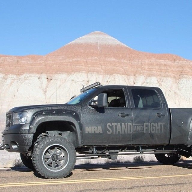 The @NationalRifleAssociation Truck Built By @Matty Chuah Garage Inc. Follow @Matty Chuah Garage Inc.
