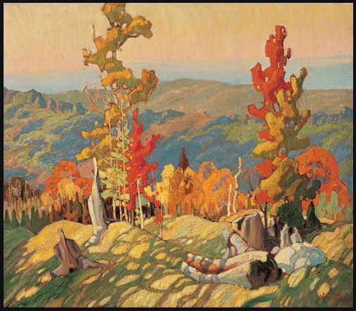 Franklin Carmichael - Autumn in the Northland