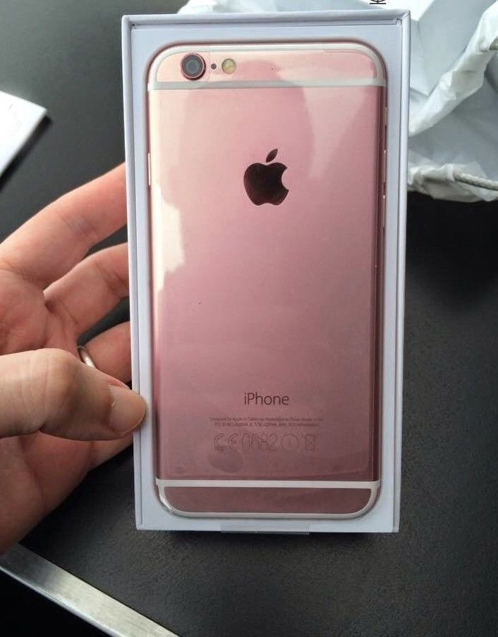 New Other Apple Iphone 6s 64gb Rose Gold Unlocked Gsm In