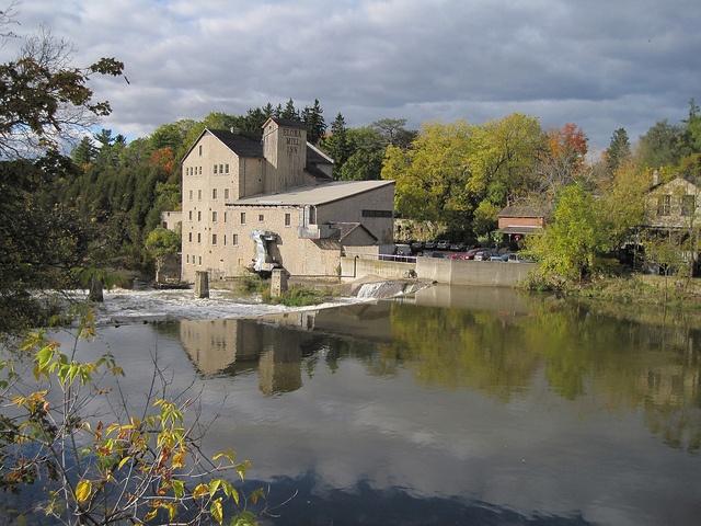 Elora Mill - Fall reflections - Elora Ontario Canada by eloramews, via Flickr