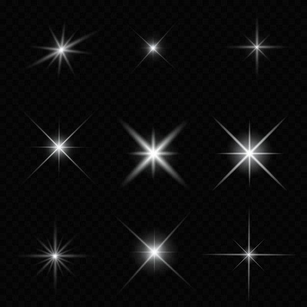 Glare Star Sparkling Premium Vector Premium Vector Freepik Vector Car Star Line Light Sparkle Png Blue Background Images Light Effect Photoshop