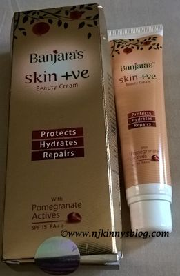 @BanjarasHerbals Skin +ve Beauty Cream #Review http://www.njkinnysblog.com/2016/05/productreview-banjaras-skin-ve-beauty.html #BBlogger #NewlyLaunchedProduct #HerbalProduct #AyurvedicProprietaryProduct #Recommended #NaturalIngredients #NoChemicals #BeautyCream #SkinPositiveBeautyCream #PocketFriendly #SkinFriendly #SuitedForAllSkinTypes #SuitedForAllSeasons