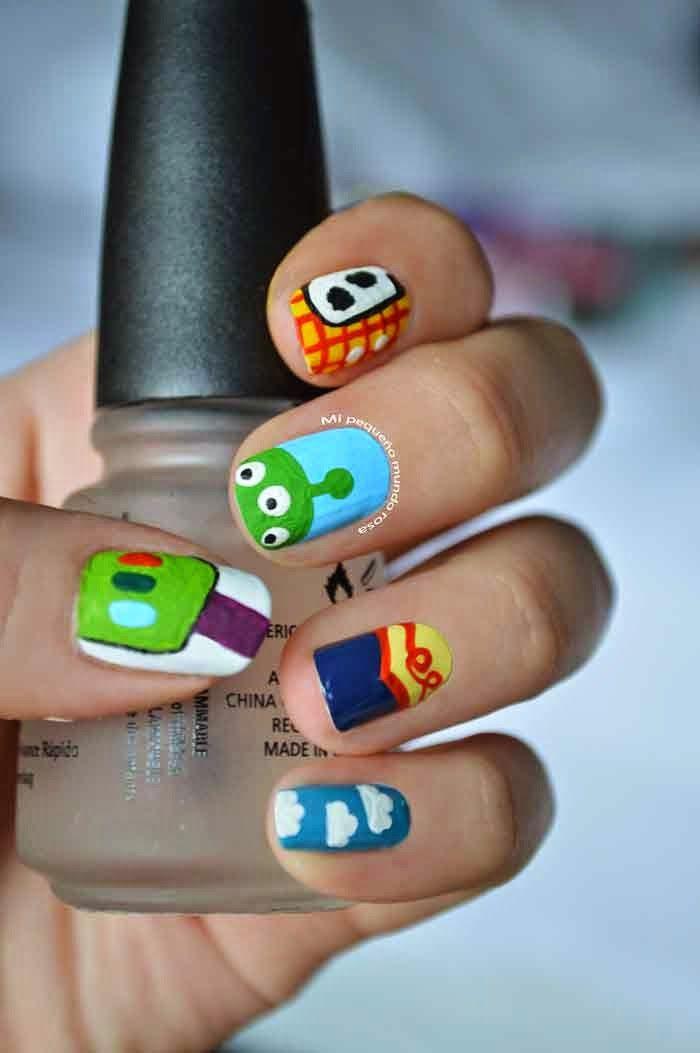 Mi pequeño mundo rosa ♥: Uñas de Toy Story