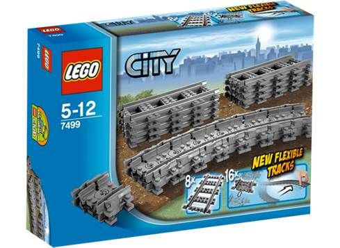 LEGO CITY Fleksible skinner (7499)