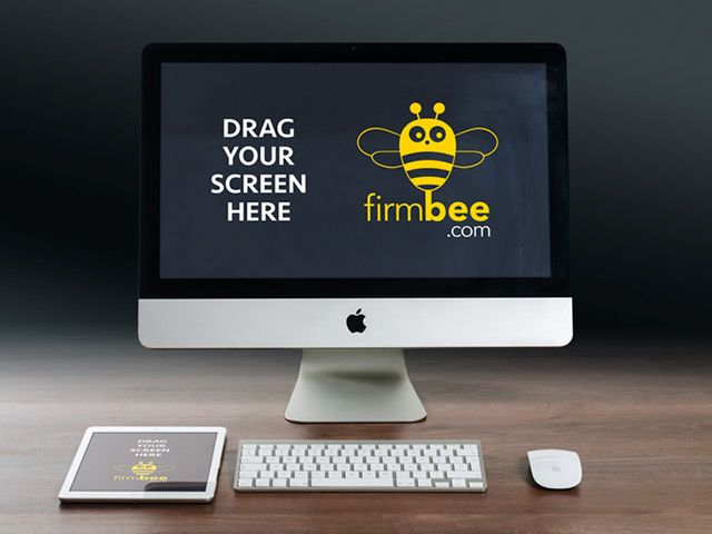 Firmbee is a project curated by William Iven. There you can download for free many useful Apple devices mockups released in PSD format.