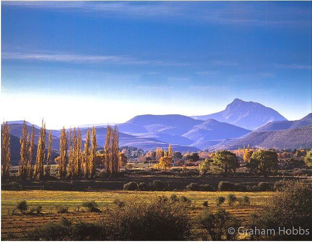 Klein Karoo -- South Africa