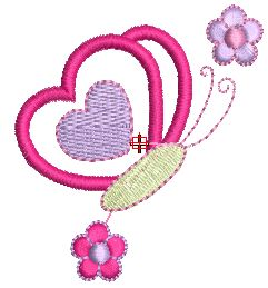 Bordados Descargar Gratis, 200,000 mil Diseños Bordados Descargar Gratis: Bordado de Mariposas#.VKIneAIA#.VKIneAIA
