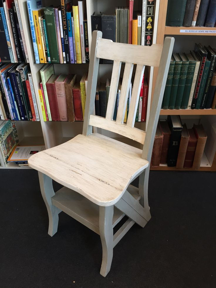 A Fine Metamorphic Style Step Chair in the Arts and Crafts Style. €155 #interiordesign #shabbychic #rugstorhinos  Call and secure over the phone: 01-4966851 or on http://www.rugstorhinos.com/