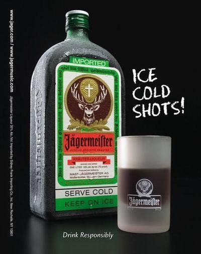 с чем пить Егермейстер