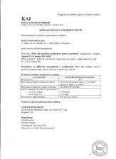 Declaratie de conformitate - Gresie portelanata neglazurata KAI PROGRES CERAMICA