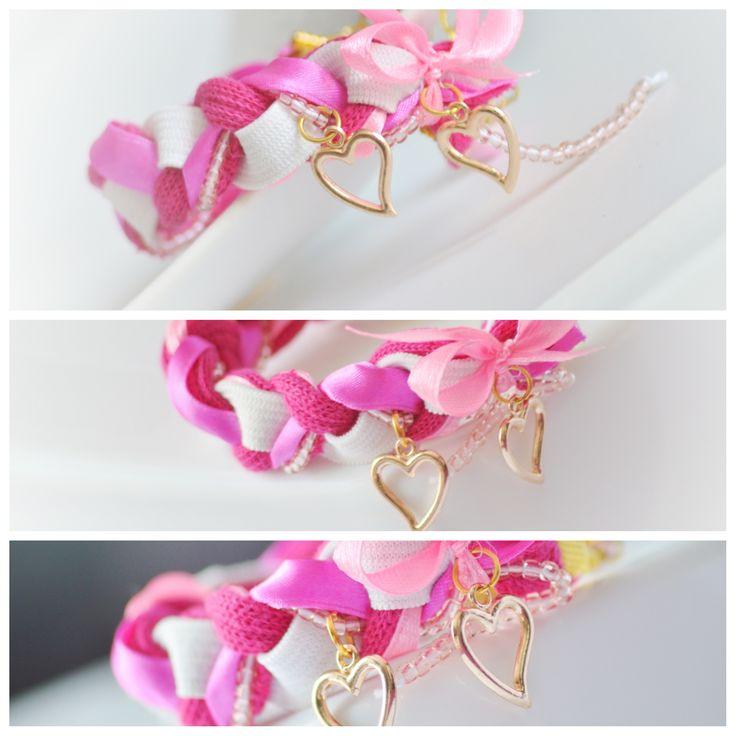 Link Beaded sweet bracelet Braccialeart@gmail.com