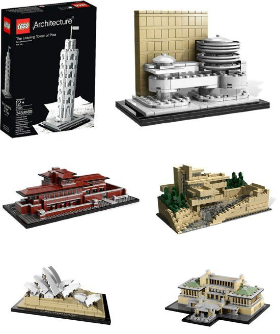 {LEGO Architect Sets} Perfect for the adult who loved LEGOs as a child... *too cool