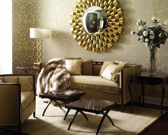 Modern Interior Decor and Design Trends How to Add Golden