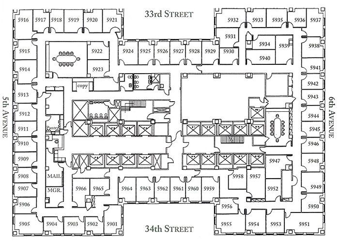 Richmond Shreve Thomas Lamb And Arthur Harmon Empire State How To Plan Floor Plans Empire State Building