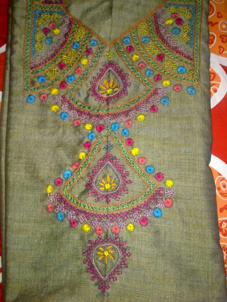 Indian Embroidered Sarees: 237 Best Indian Embroidery Images On Pinterest