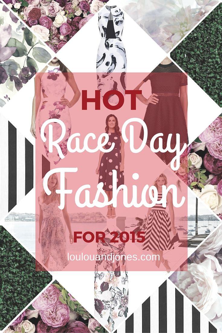Race Day Fashion- Spring Racing Fashion 2015 via Loulou + Jones