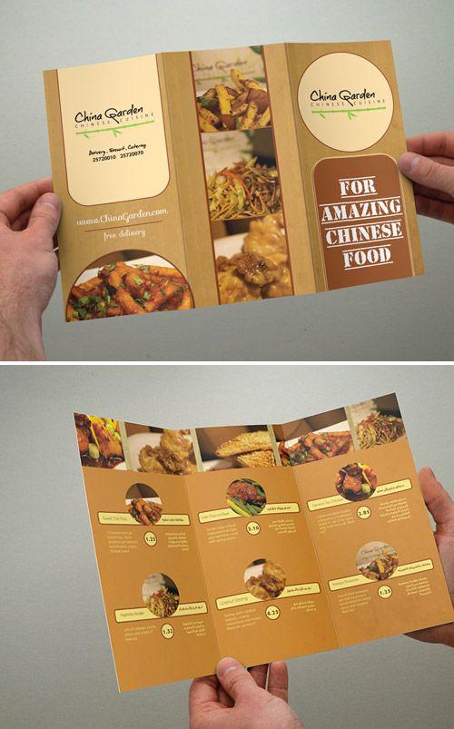 35 best front page menu research images on Pinterest Menu - restarunt brochure
