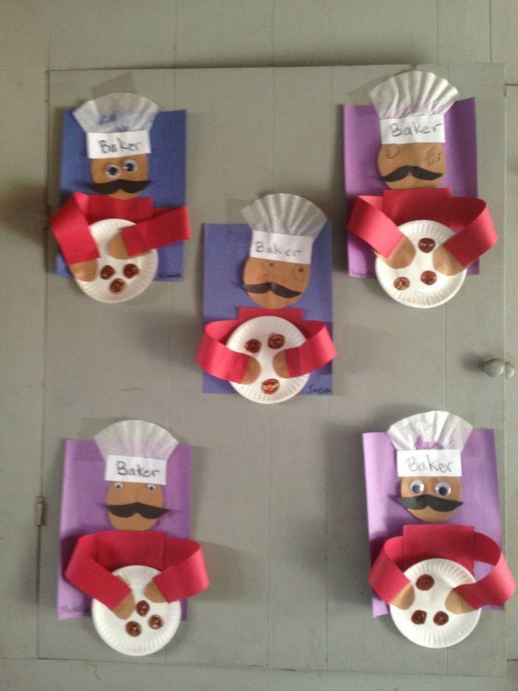 B for baker