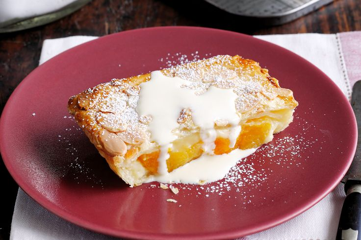 Take the effort out of dessert with this freezer-friendly apricot custard pastry.