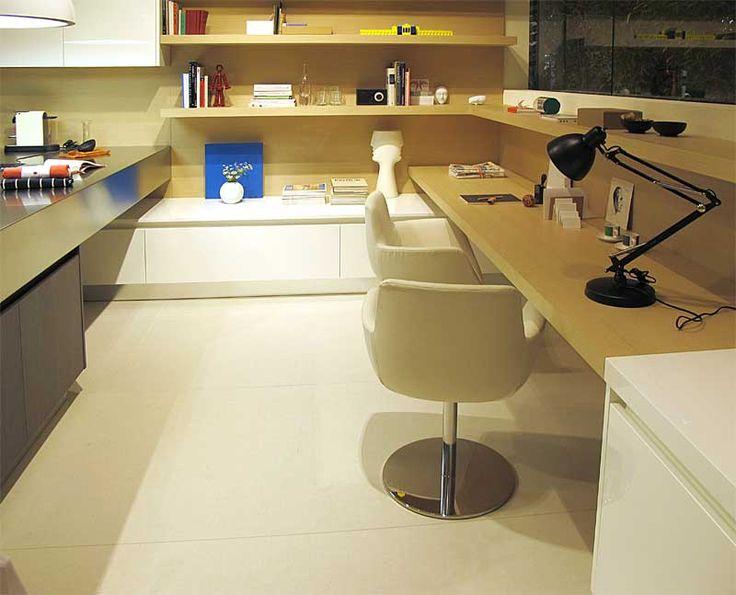 Living Space Integration in Kitchen Design