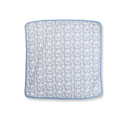 Cornflower Blue Bees Snuggle Wrap from Sapling Child's L'Abeille (Honey Bee) collection