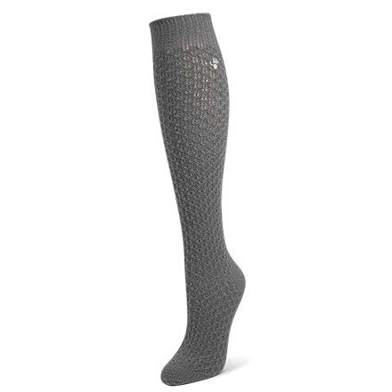 Womens Bubble Knit Knee High by BEARPAW review in Violet