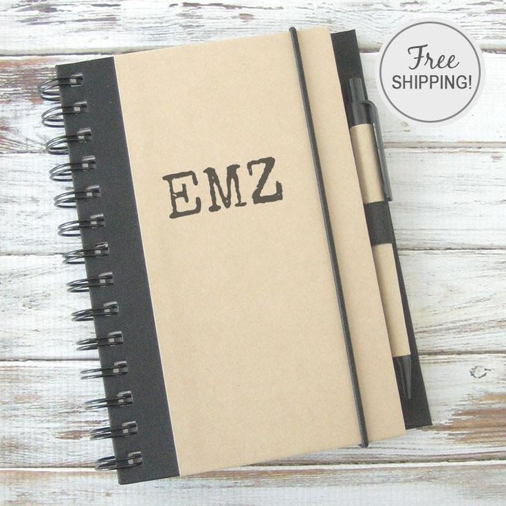 Initials Personalized Journal