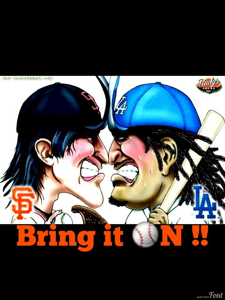 SF Giants vs LA Dodgers.  Going to the game tomorrow. (9-13-14).  It's going to be crazy there!  Can't wait!!  Go Giants!!!!