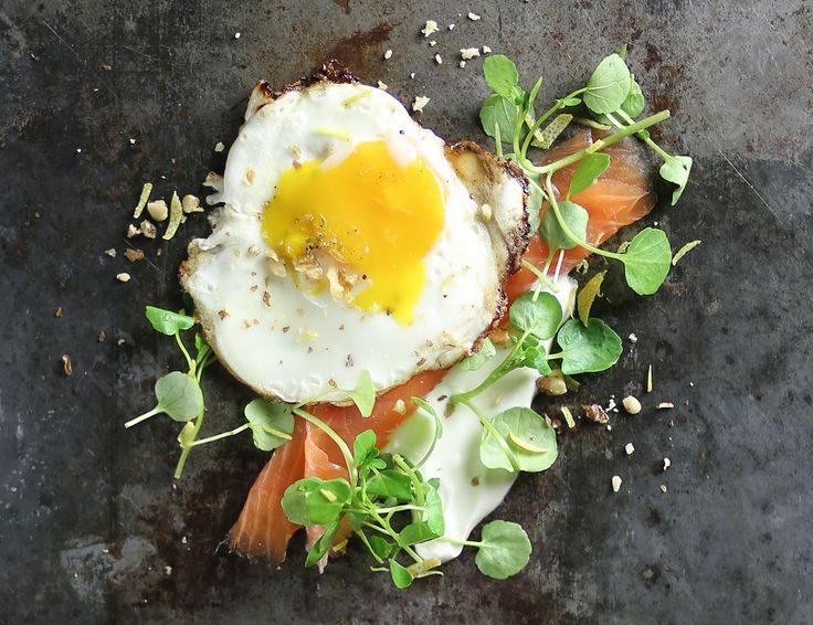 Fried Egg with Smoked Trout & Watercress Recipe | Abel & Cole