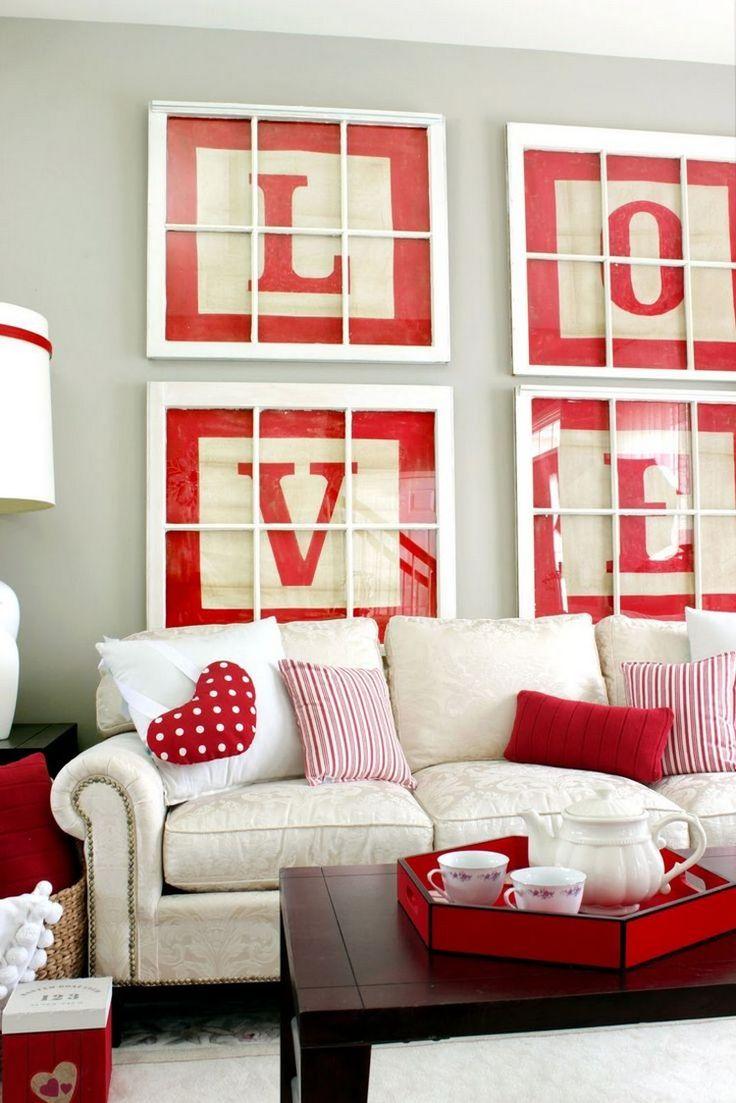 Die Besten 25+ Wohnzimmer Rot Ideen Auf Pinterest | Rotes ... Wohnzimmer Rot Weis