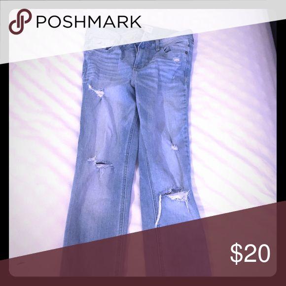Hollister jeans worn 2 times Jeans Hollister Jeans Skinny