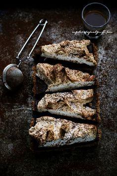 chocOlate fondant coffee meringue cake