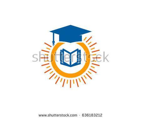 Education Sun Icon Logo Design Element