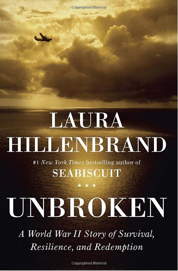 Unbroken - Laura Hillenbrand. Current read. Started off slowly but becoming more engrossing.