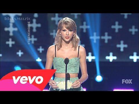 Taylor Swift - Present The Winner: Ansel Elgort (Teen Choice Awards 2014...