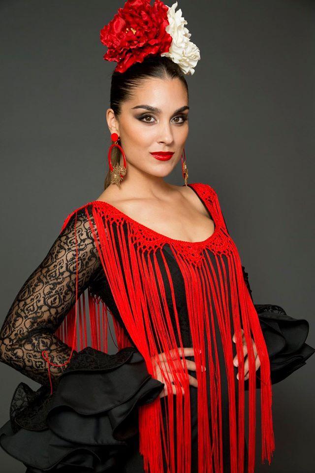 красивые фото причесок для фламенко материалами