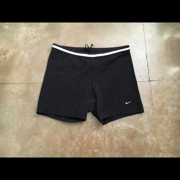 Nike spandex shorts Size small. Spandex tight shorts. Athletic or lounging shorts. Drawstring inside. Nike Shorts