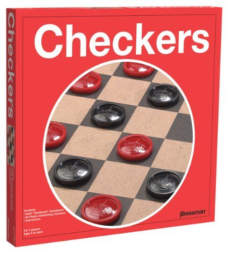 Checkers----USUALLY THIS WAS A QUICK GAME TO PLAY, HOWEVER ...